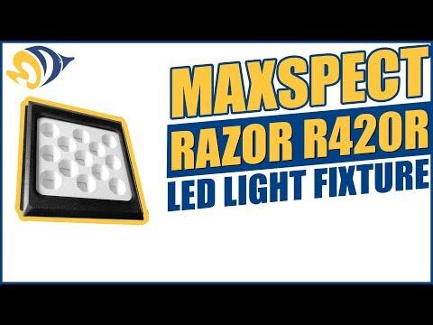 Maxspect Razor R420R LED Light Fixture Product Demo
