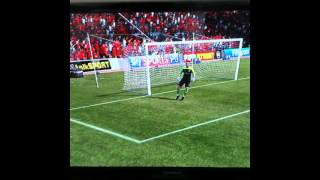 Andy Carroll Scores a bicycle kick