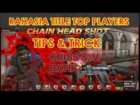 RAHASIA + Tips TITLE KRISS S. V. BATIK ala FIRE ENDEAVOUR PB | Point Blank Garena Indonesia WYVERN