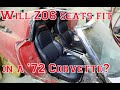 Will C5 Z06 Corvette Seats Fit In The C3 1972 Corvette?