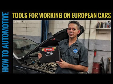 Tools you Need for Working on European Cars (Part 1)