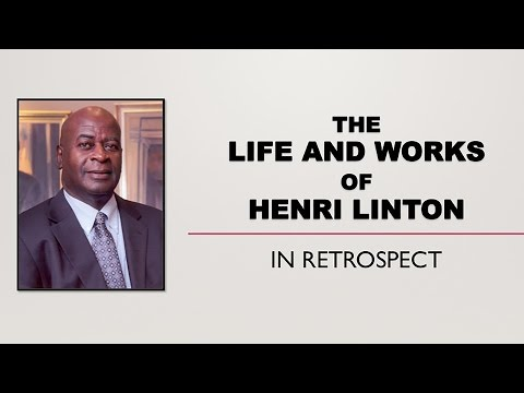 The Life and Works of Henri Linton
