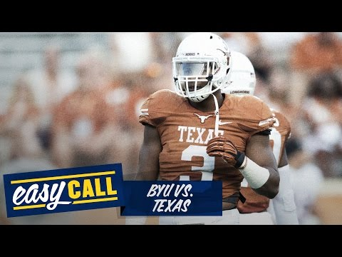 BYU vs. Texas 2014 preview, odds, keys, score prediction (Easy Call)