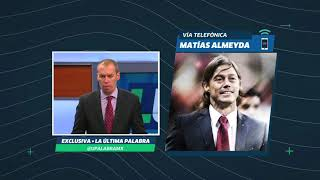 Matías Almeyda en vivo en La Última Palabra