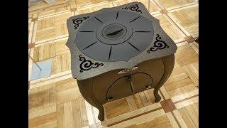 Зухра. Правильная печь в дачный сад под казан от TMF. Обзор.
