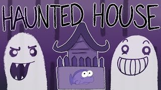 My Traumatizing Haunted House Experience by : theodd1sout comic