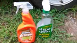 Awesome orange cleaner vs simple green cleaner