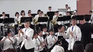 星野源の「恋」を吹奏楽バージョンで! アンフォーレ開会式より.