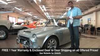 1969 Datsun 2000 Roadster for sale with test drive, driving sounds, and walk through video