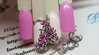 шикарный объемный летний дизайн ногтей  ТОП 10 дизайнов ногтей