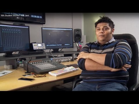 MetFilm Student Story - Adi Jani  MA in Directing