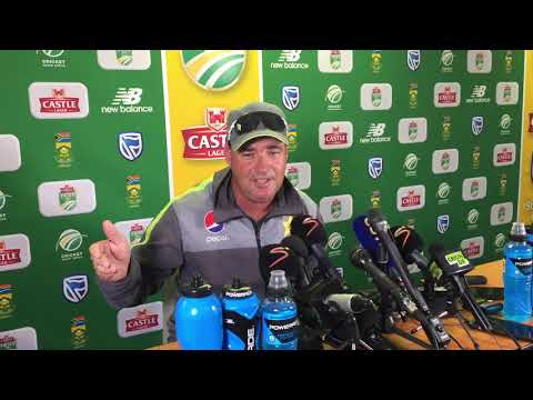 Pakistan head coach Mickey Arthur on his team's whitewash against the Proteas