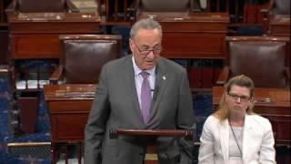 Schumer tears apart Cruz amendment in response to Republican health-care bill
