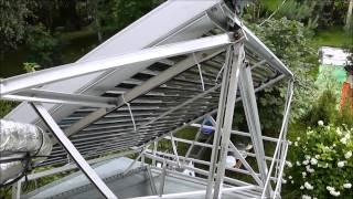видео Солнечные водонагреватели, батареи и гелиосистемы в Крыму