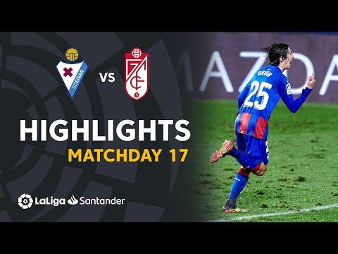 Eibar Granada Goals And Highlights