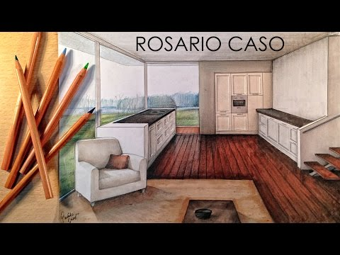 manual-rendering-/-architecture-interior---speed-drawing