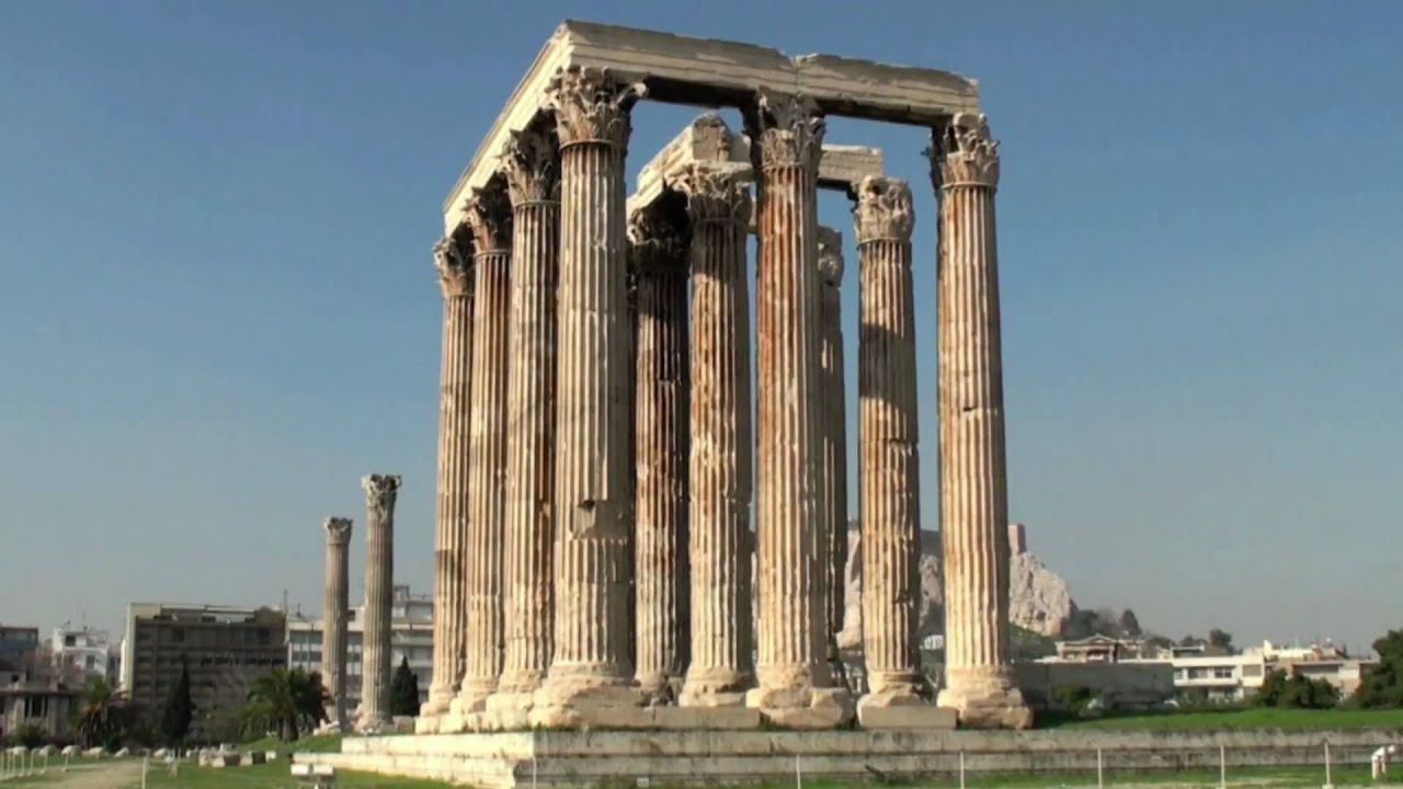 the temple of zeus αθήνα athens youtube