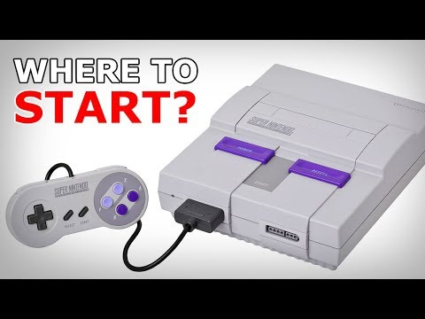 Where to Start: SNES