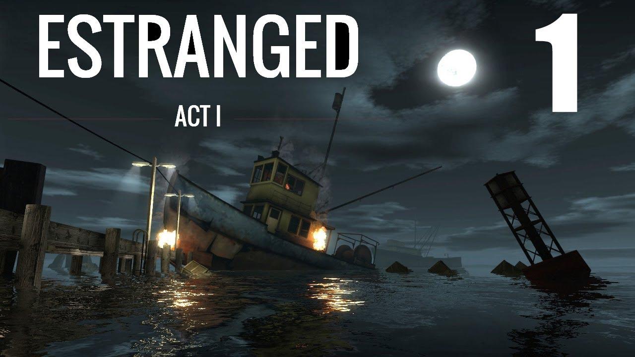 Прохождение Estranged Act I. Часть 1   Крушение у загадочного ...
