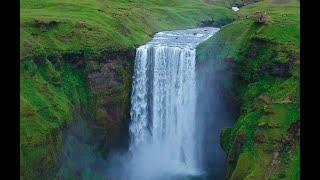 Amazing Waterfalls in Iceland // 4k Drone Footage // DJI Phantom 4