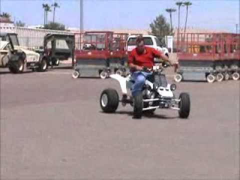 Sold! Yamaha Banshee ATV Quad 2-Stroke Long Travel Custom LOTS OF bidadoo.com