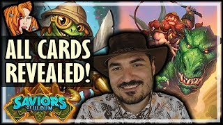 ALL CARDS REVEALED! THIS EXPANSION IS CRAZY! - Saviors of Uldum Card Review - Hearthstone