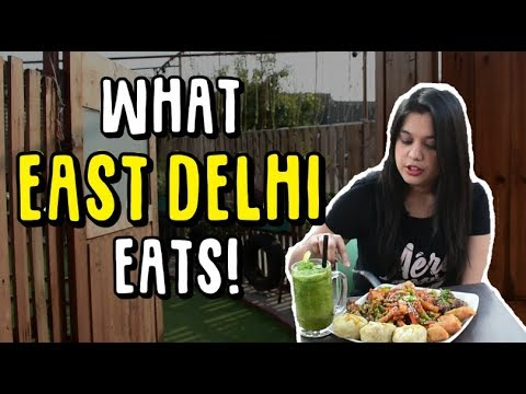 What East Delhi Eats | Cafe Wink, Hippie Bus, Dosa King and Gopala 56