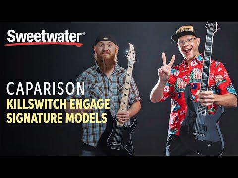 Caparison Guitars Killswitch Engage Signature Models Demo