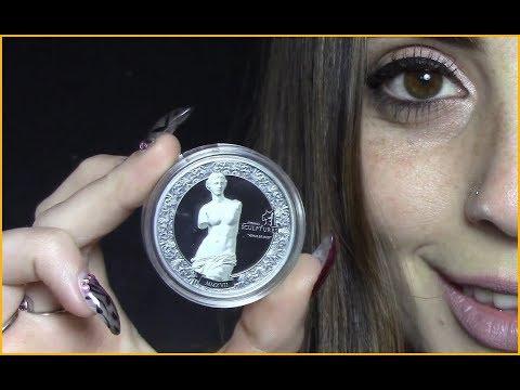 🌹 VENUS DE MILO 🌹 Eternal Sculptures - 2 Oz Silver Coin - Palau 2017