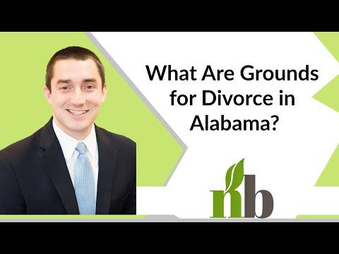 What Are Grounds for Divorce in Alabama? | Huntsville Alabama Divorce Attorneys