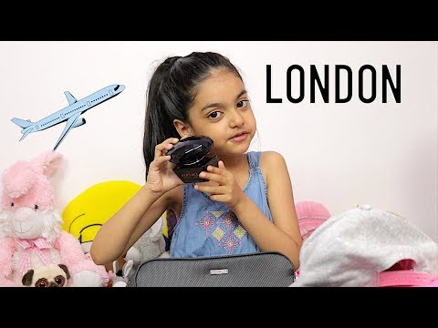 Packing For London by 5 Year Old Girl   Travel Packing Tips   Aimalifestyle