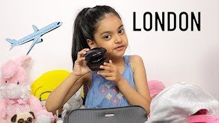 Packing For London by 5 Year Old Girl | Travel Packing Tips | …