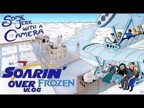 Soarin' Over Frozen VLOG!