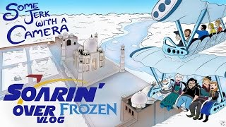 Soarin' Over Frozen VLOG!