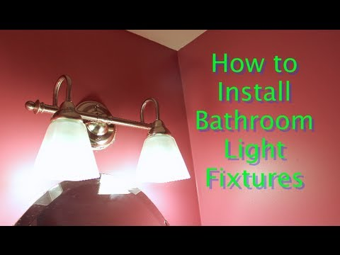 Bathroom Lights Wont Turn On bathroom light fixtureslowe's lighting --home repair tutor