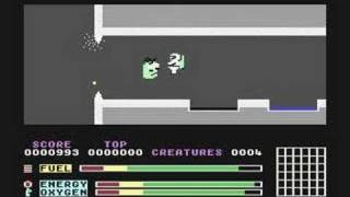 Phantoms Of The Asteroid C64 Gameplay