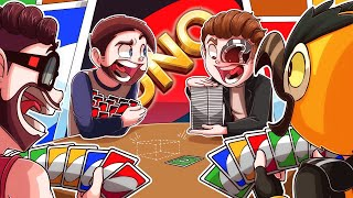 WE TRIED THE MAX CARD LIMIT CHALLENGE AND BROKE UNO!