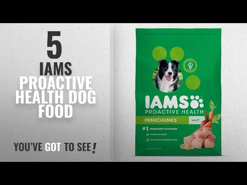 Top 5 Iams Proactive Health Dog Food [2018 Best Sellers]: IAMS ProActive Health Minichunks Dog Food