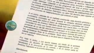 Roche en América Televisión, Raúl Tola renuncia a Cuarto Poder 21/12/2011