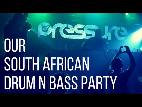 OUR DRUM N BASS PARTY IN CAPE TOWN, SOUTH AFRICA - Boring Cape Town Chick