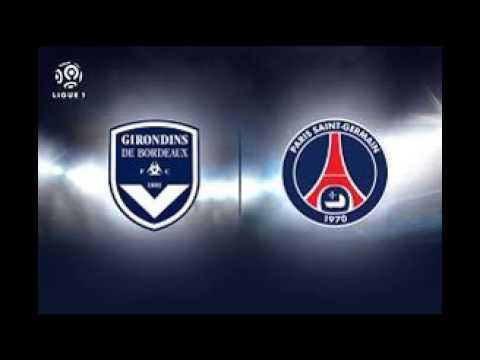Bordeaux PSG En Direct Résultat Score LIVE Streaming Composition