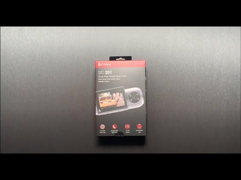 SC 201 Smart Dash Cam Unboxing