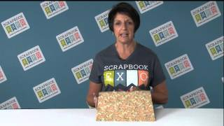 Tip of the Day: Working with Busy and Bold Backgrounds from Stamp & Scrapbook Expo
