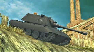 IS-4 ● E 100 ● World of Tanks Blitz screenshot 4