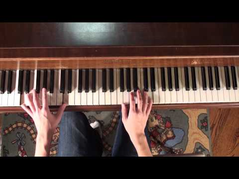 How to Play Zelda - Skyward Sword Theme Song Piano Tutorial & Lesson