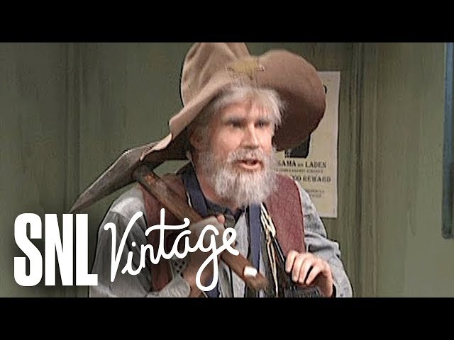 Relive The Time Will Ferrells Snl Old Prospector Took Our Minds Off