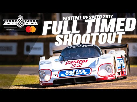 Full Timed Shootout: Goodwood #FOS 2017