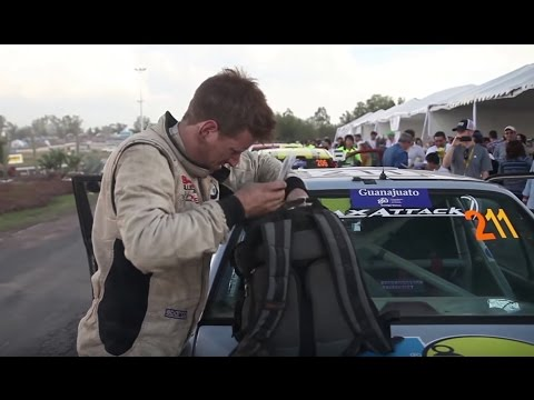 Rally Action - Bill Caswell WRC Mexico 2012 - Super Special Stage 500 Dollar BMW E30