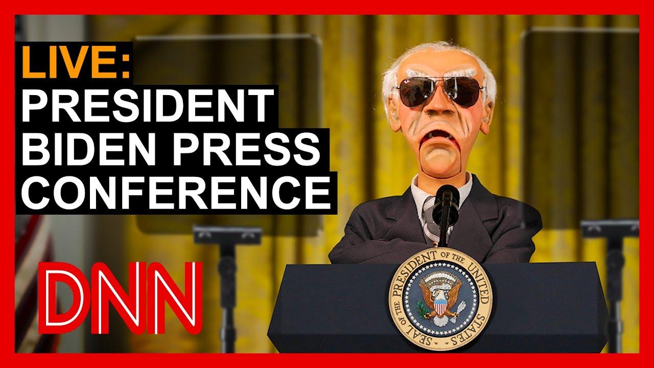 Download LIVE: President Biden Press Conference   JEFF DUNHAM