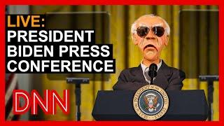 LIVE: President Biden Press Conference | JEFF DUNHAM